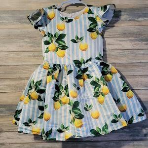 HALABALOO LEMON DRESS